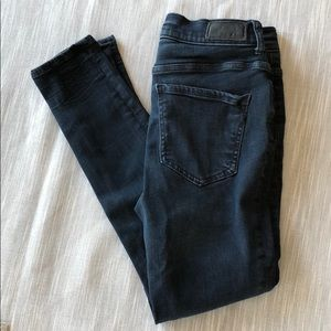 Express Jeans - Express High waisted jean leggings